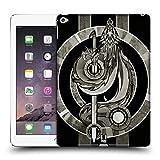 Head Case Designs Silber Mittelalterliche Embleme Drache Ruckseite Hülle für iPad Air 2 (2014)
