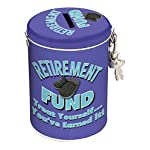 Boxer Gifts Retirement Fund Tin