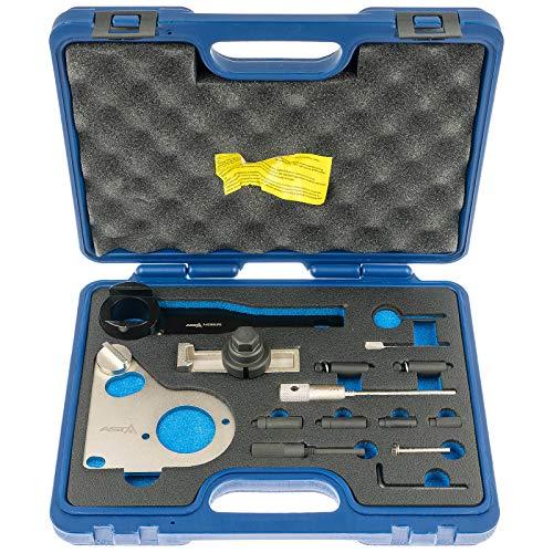 Asta A-62382UPG Kfz Motor Einstell Werkzeug Set Diesel on kompatibel mit Nissan Opel Renault