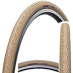 Kenda Kwest K193700C x 28–32C Urban, para bicicleta híbrida neumático para bicicleta de carretera fixie–Slick, Kwest, beige, 28 C