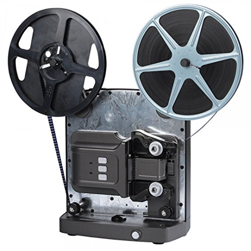SUPER 8 SCANNER MIETEN 1 WOCHE, Reflecta Super 8 Scanner mieten, Super 8 Filme digitalisieren (max. Spulendurchmesser 24 cm), Auflösung: Full-HD