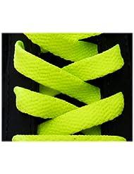 Cordones deportivos planos de alta calidad (125 cm)