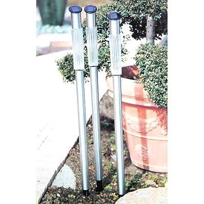 vevendo®: 8er Set 86cm Solar Solarleuchten Garten Gartenstäbe Solar Solarlampe Neu Gartenstecker/Solarleuchte mit Erdspie von 3S GmbH & Co. KG bei Lampenhans.de