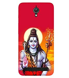 For ZenFone C (ZC451CG) shiv parvati ( shiva, bagwan, god, lord, jesus, allah, christrian, mahadev ) Printed Designer Back Case Cover By FashionCops