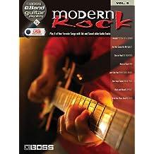 Modern Rock: Boss Eband Guitar Play-Along Volume 5 (Book & Usb)