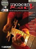 Boss eBand Guitar Play-Along Volume 5: Modern Rock: Songbook, Play-Along, Datenträger Sonstige für Gitarre (Book & Usb)