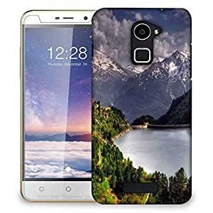 Snoogg Abstract Nature Designer Protective Phone Back Case Cover For Coolpad Note 3 Lite