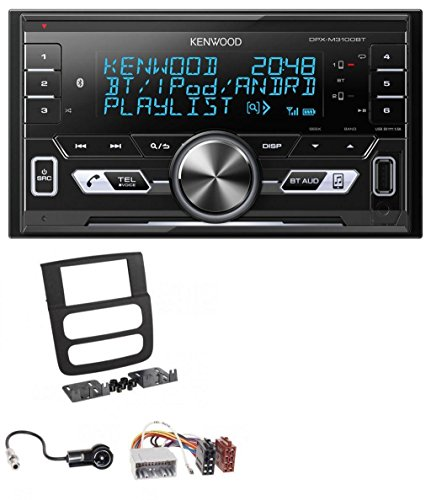 Kenwood DPX-M3100BT 2DIN AUX MP3 Bluetooth USB Autoradio für Dodge RAM (2002-2006) (Dodge Ram Tuner)