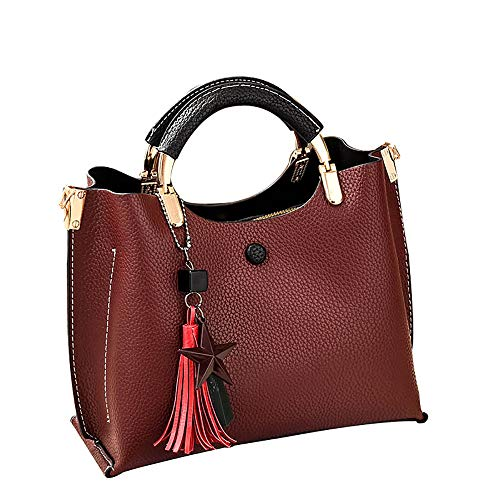 feiXIANG Borsa Borse a tracolla tracolla con pendente a forma di borsa da donna Borse a spalla Borse a tracolla Borsa a mano