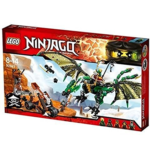LEGO Ninjago 70593 - Der Grüne Energie-Drache - Mit Liebe Flammen Der Drache