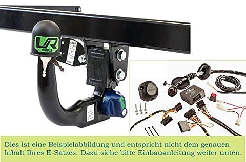 Vertikal Anhängerkupplung mit abnehmbarem Kugelkopf mit 13p Spezifischer E-satz UT190COR18ZM/WS21610502DE1