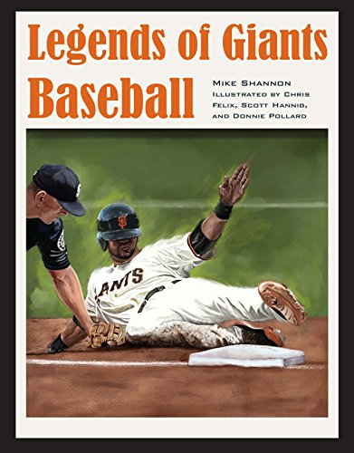 Legends of Giants Baseball (Black Squirrel Books) por Mike Shannon