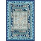 Bassetti Plaid algodón, V3 - blau, 135x190