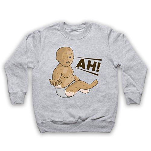 ng Peanut Butter Baby Kids Sweatshirt, Grau, 5-6 Jahren ()