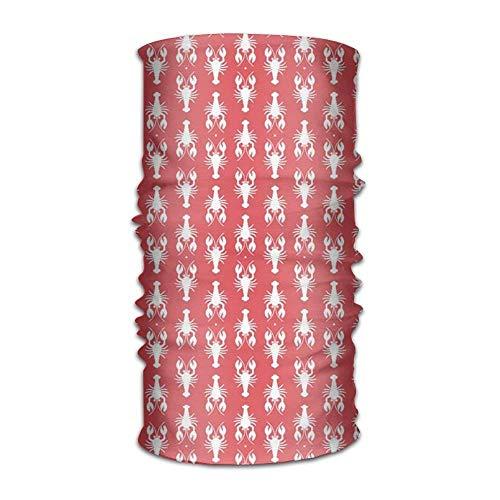 Kostüm Rock Lobster Damen - Qinckon Red Lobster Unisex Sport Scarf Headbands Bandana Outdoor Sweatband Headwear