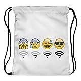 Beutel WiFi Emoticons Emoji Smileys...