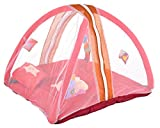 #9: Feathers-Nature's Touch Velvet Baby Play Gym with Mosquito net(0-6Months)