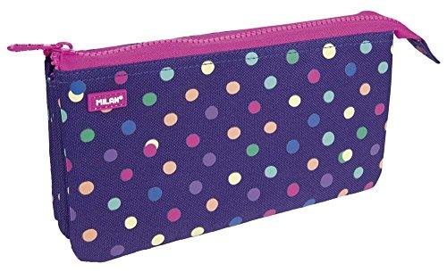 Milan 081133DT Dots Estuches, 22 cm, Multicolor