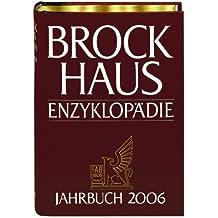 Brockhaus Enzyklopädie Jahrbuch 2006 (Halbleder-Einband)