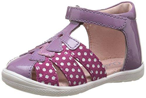 Aster Giana, Chaussures Premiers pas bébé fille Violet (Violet Clair)