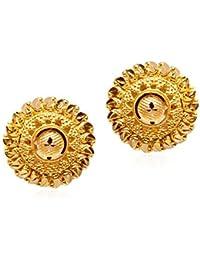 Senco Gold 22k (916) Yellow Gold Stud Earrings