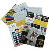 PolyFlex Premium T-Shirt Folien in verschiedenen Farben 1m (Länge) x 50cm (Breite)| Flexfolie zum T-Shirt bedrucken schwarz