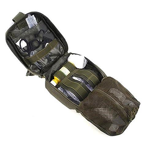 Nakital First Aid Kit Bag Trousses de premier secours Voyage / Extérieur Urgence Premier Soin Secouriste Maison Camping et Randonnée