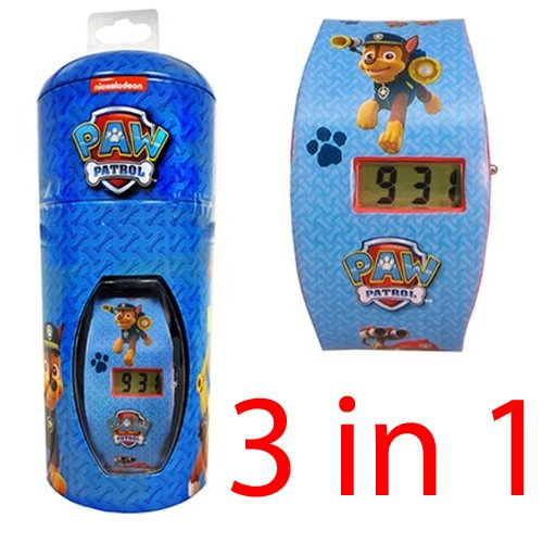 3-in-1-paw-patrol-lcd-fun-character-watch-digital-kids-nickelodeon-money-tin-new