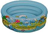 PLANSCHBECKEN Pool 100 cm 3 Ringe Schlümpfe - KINDER-POOL KINDERPOOL - zum Aufblasen