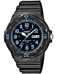 Casio Herren-Armbanduhr XL Collection Analog Quarz Resin MRW-200H-2BVEF