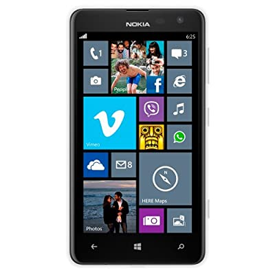 Nokia Lumia 625 (White, 8GB) (Certified Refurbished)