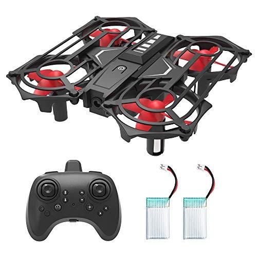 HOMMINI Drone Telecomandati, Mini RC Quadricottero Rilevazione a Infrarossi con Funzione di...