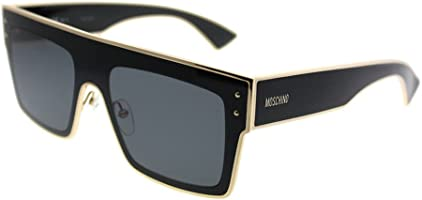 Moschino Rectangle Sunglasses for Women - Grey Lens, (MOS001/S 807IR)