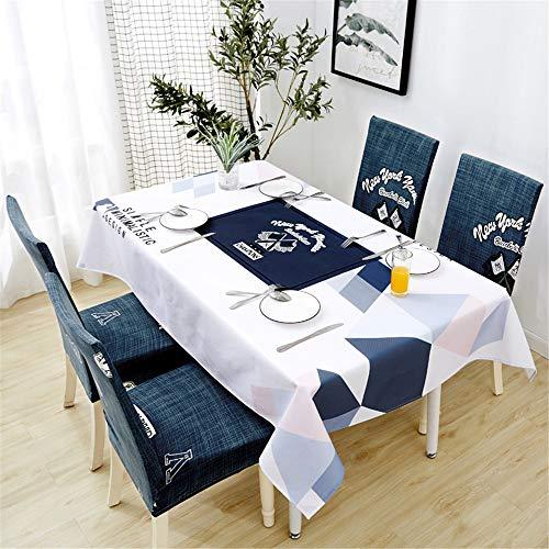 FuJia Tischdecken Wasserdichte Baumwolle und leinen tischdecke Hause Restaurant rechteckigen esstisch Tuch couchtisch Abdeckung Tuch, 120 * 160 cm