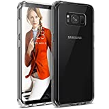 Coque Samsung Galaxy S8 Plus - BEZ® Housse Antichoc Transparente Case Hybrid Etui de Protection avec Absorption de Choc et Anti-Scratch pour Samsung Galaxy S8 Plus