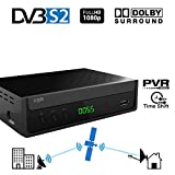 Crypto ReDi S100P DVBS2 Full HD Satelliten Receiver mit...