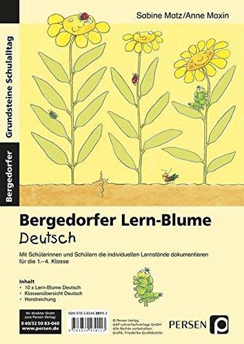 Bergedorfer Lern-Blume Deutsch: 1. bis 4. Klasse