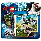 Lego Legends of Chima - Speedorz - 70107 - Jeu de Construction - L'expulsion Chi