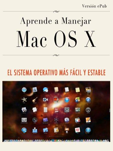 Aprende a manejar Mac OS X por Gerardo Fernández Pérez