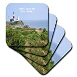 Florene New York – Montauk Point Leuchtturm auf Long Island New York – Untersetzer, keramik, set-of-4-Ceramic
