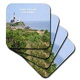 Florene New York–Montauk Point Leuchtturm auf Long Island New York–Untersetzer, keramik, set-of-4-Ceramic