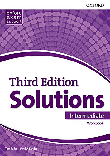 Solutions Intermediate. Workbook 3rd Edition - 9780194504522 (Solutions Third Edition) por Tim Falla