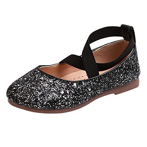 Einzelne Schuhe Kinder Pailletten Gummiband Einzelne Schuhe Kleinkind Niedlich Schuhe Prinzessin Schuhe Tanzschuhe Kinder Baby Kleinkind Mädchen Pailletten Bling Schuhe