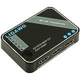 Ligawo 6518858 HDMI Switch 5x1 4K 3D automatisch/IR