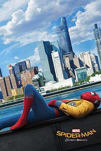 Laminiert Spiderman Homecoming Teaser Maxi Poster 61 x 91,5 cm (Wand Amazing Spider Man)