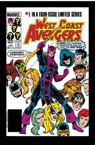 Avengers West Coast Epic Collection: How The West Was Won por Roger Stern