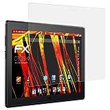 Lenovo Tab 4 10 Plus Displayschutzfolie - 2 x atFoliX FX-Antireflex-HD hochauflösende entspiegelnde Schutzfolie Folie