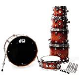 DW Collector´s Exotic Quick Deep Rich red Burst Pecan · Schlagzeug