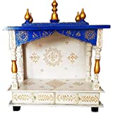 Anshika International Handmade Temple/Wooden Temple/Pooja Mandir/Mandap/Temple for Office &Home