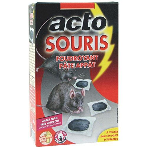 Ferox - sou9 - Pâte appât pour souris 10x10g